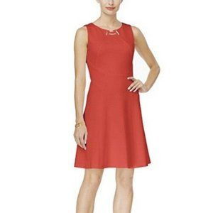 Ivanka Trump Toggle Scuba Knit Fit Dress 8